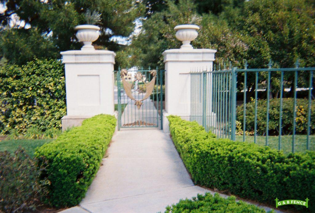 Wrought Iron Gates Las Vegas Fence Company Henderson Nv