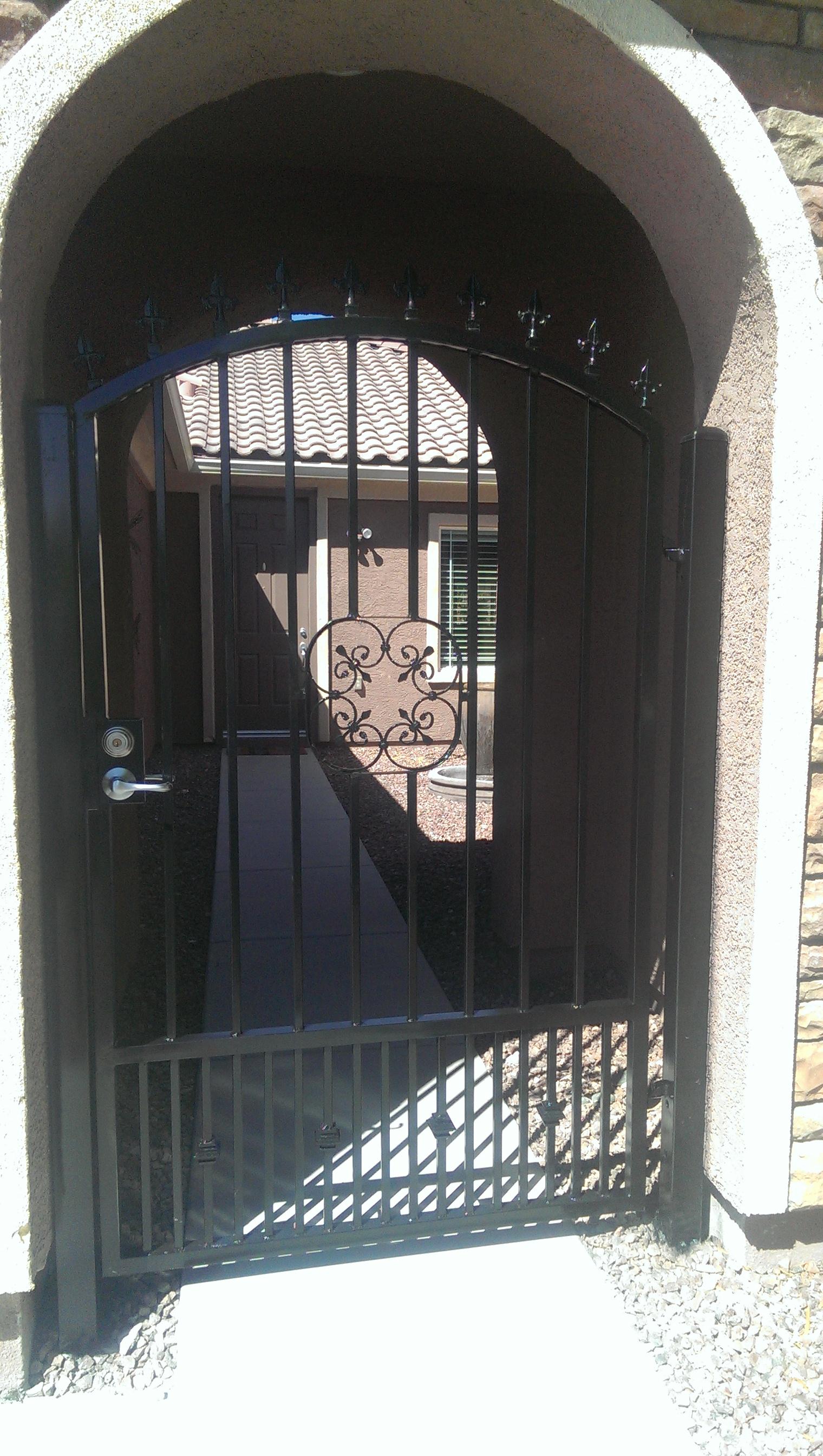 Security Doors Las Vegas Fence Company Henderson Nv